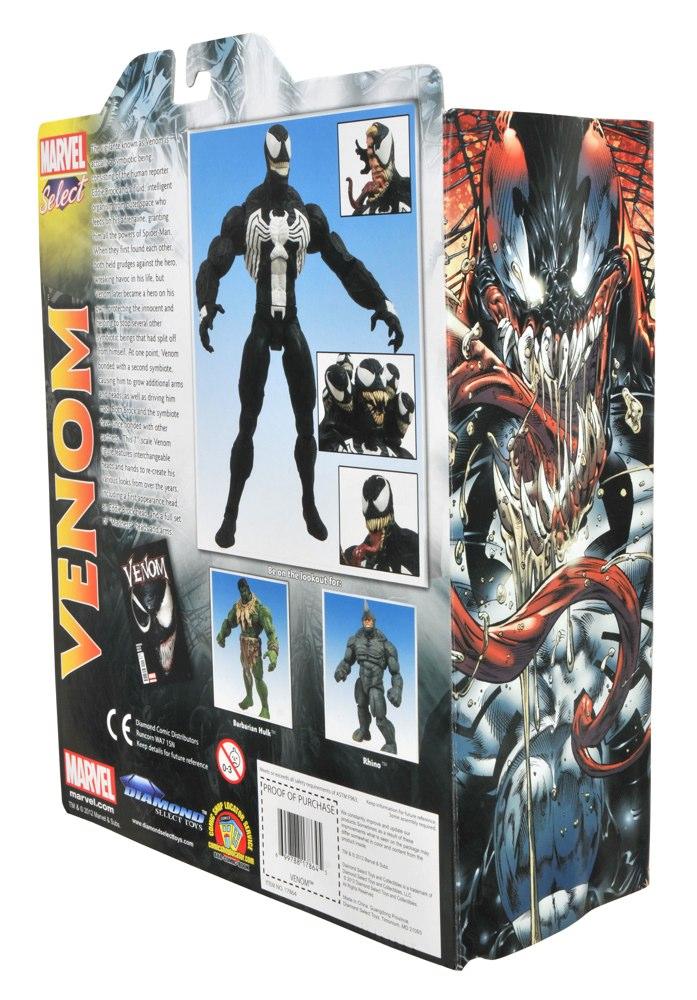 Marvel Select Venom Gets Captured In Packaged Shots Diamond
