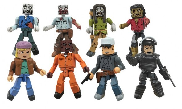 "Walking Dead Minimates Series 3 (Toys ""R"" Us Assortment)"