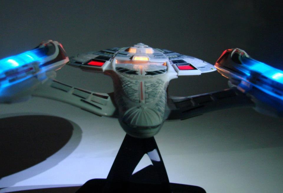 The U S S Enterprise E From Star Trek Nemesis Is In