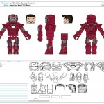 Marvel Iron Man 3 TRU Wave 1 - Iron Man (Silver Centurion Armour)