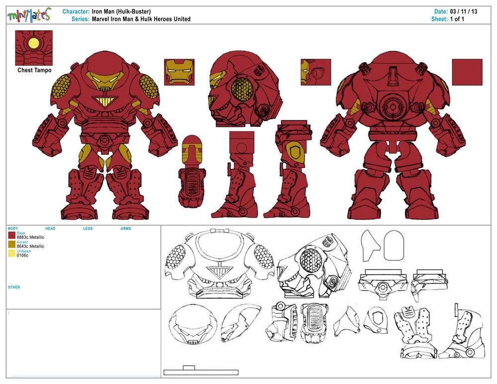 Iron Man Hulk Heroes United Offers Exclusive Minimates