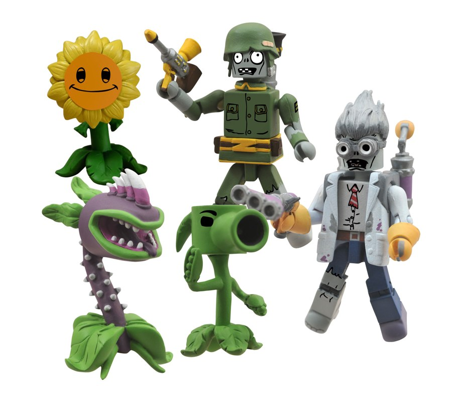 Zombie Toys R Us : Diamond select toys and popcaptm to launch plants vs