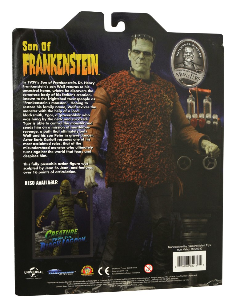 frankensteins misunderstood monster Frankenstein conquers the world people believe this is frankenstein's doing, and the misunderstood monster narrowly escapes being hunted down by the military.