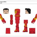 Marvel TRU Wave 19 - Iron Man (Space Armour Mk III)