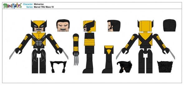 Marvel TRU Wave 19 - Wolverine
