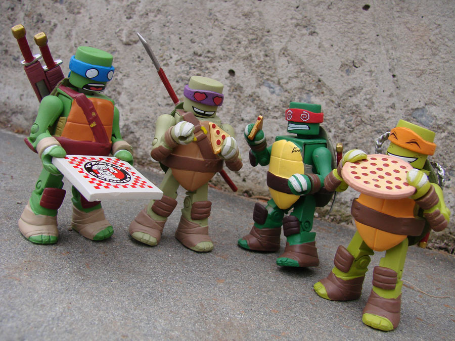 On Sale This Week Tmnt Minimates Pathfinder Bank And The