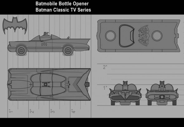 Batman Classic TV Series - Batmobile1