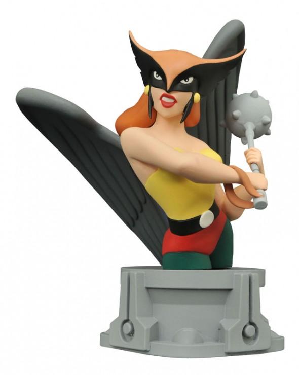 HawkgirlResinBust
