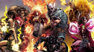 Marvel Minimates Walgreens Avengers of 1,000,000 BC The Fallen