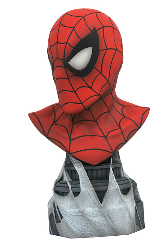 Diamond Select Legends in 3D Marvel Comic Spider-Man 1//2 Scale Resin Bust