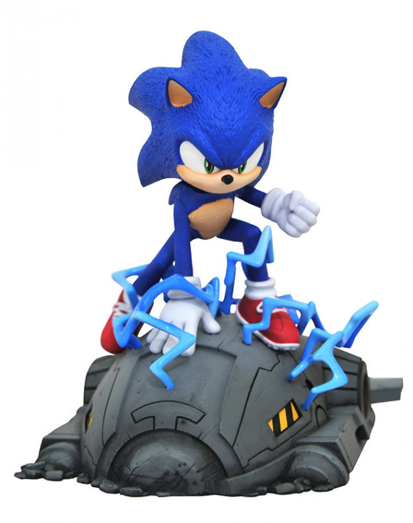 Diamond Select Toys And Collectibles Llc Sonic The Hedgehog Movie Sonic 1 6 Scale Statue